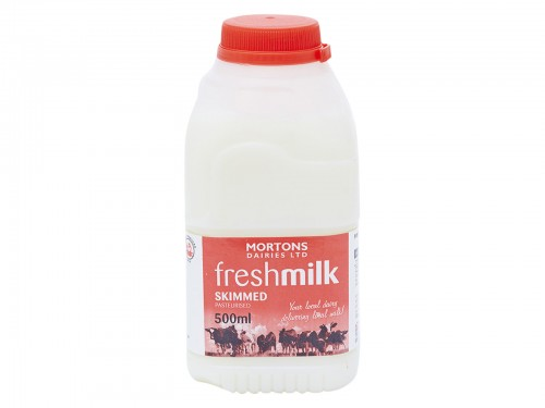 500ml Poly Skimmed milk