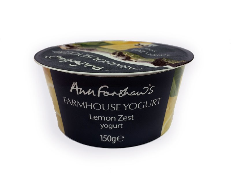 Ann Forshaw's Farmhouse Lemon Zest Yoghurt 150g