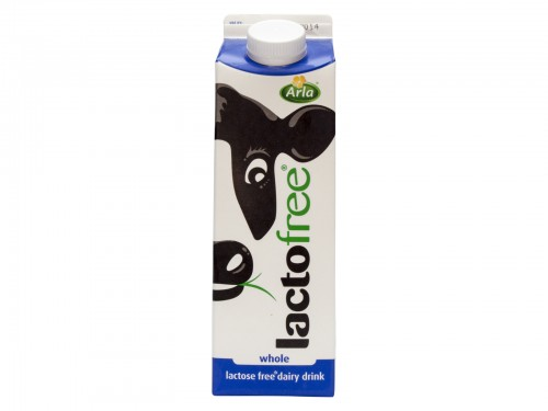 Lactofree UHT Whole Milk 1 Litre
