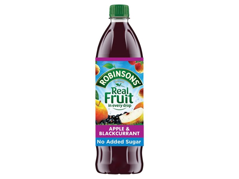 Robinsons 1 Litre Apple & Blackcurrant Cordial