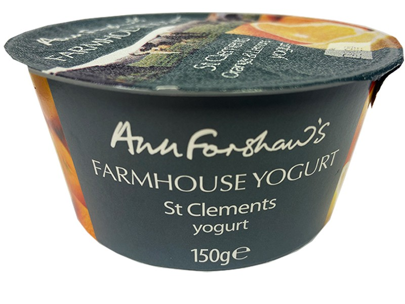 Ann Forshaw's Farmhouse St Clements Yoghurt 150g