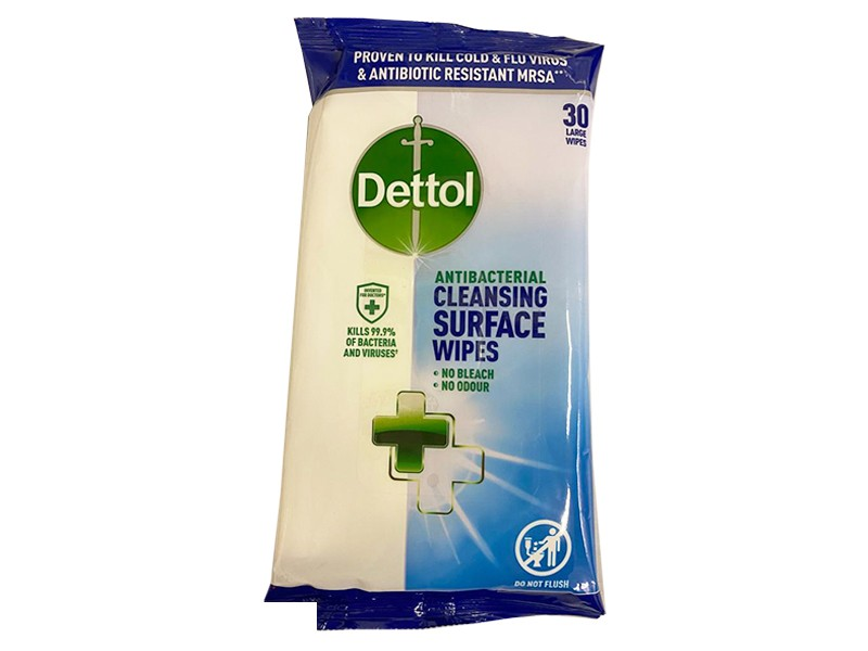 Dettol Cleansing Surface Wipes (30)