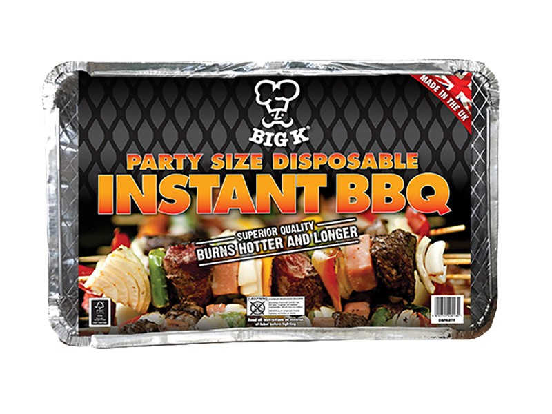 Disposable Family BBQ