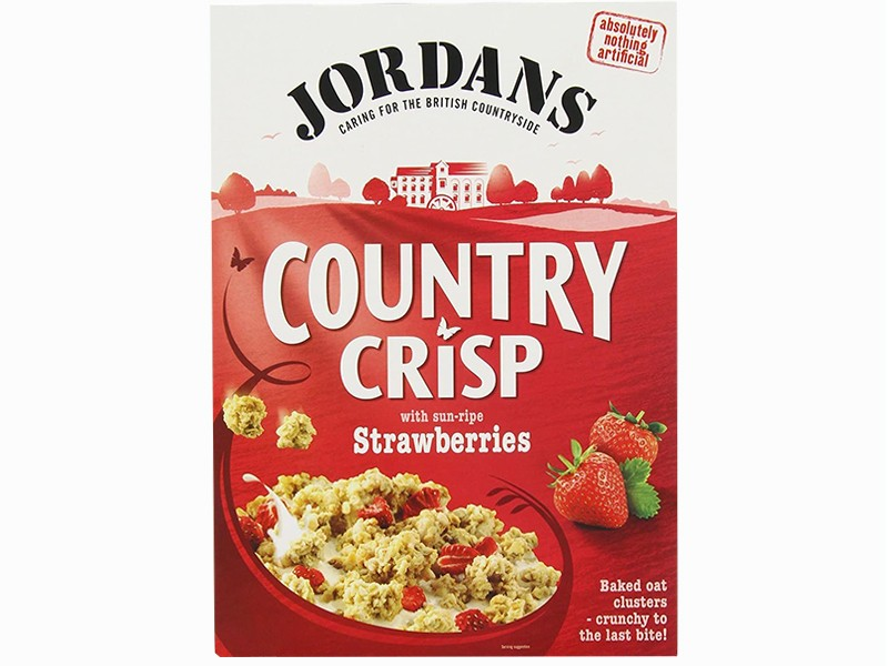 Jordans Country Crisp with Strawberries 400g