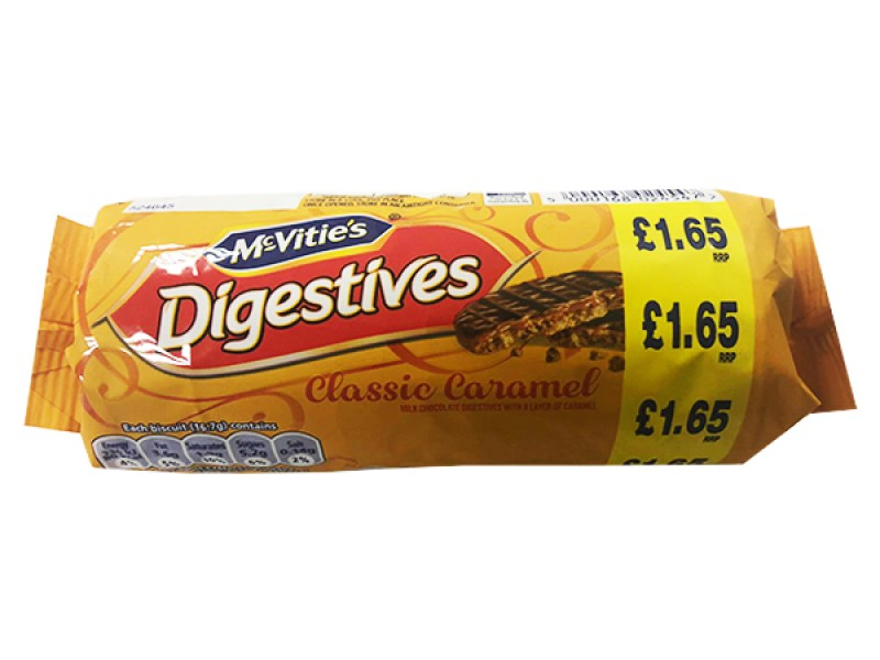 McVitie's Digestives Classic Caramel Biscuits