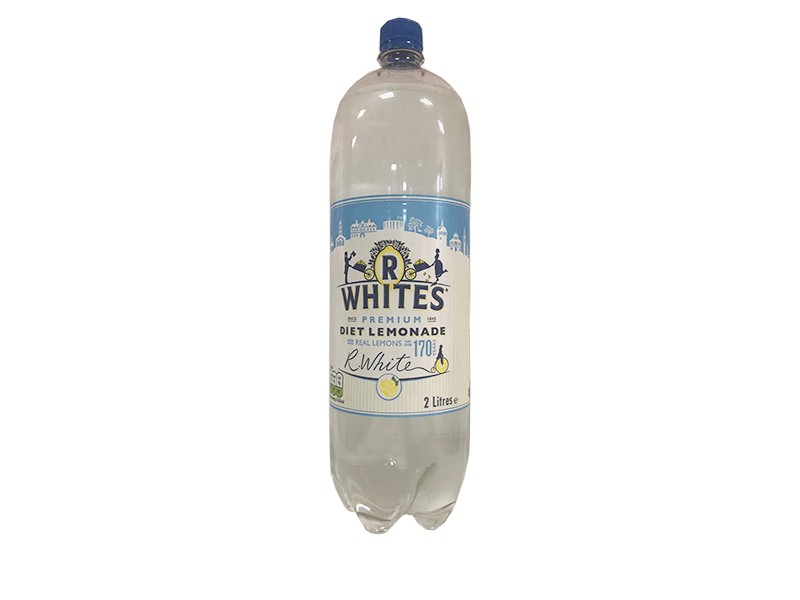 R Whites Diet Lemonade 2 Litre