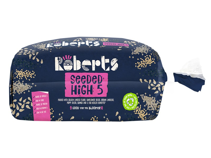 Roberts Seeded High Five Bloomer 600g