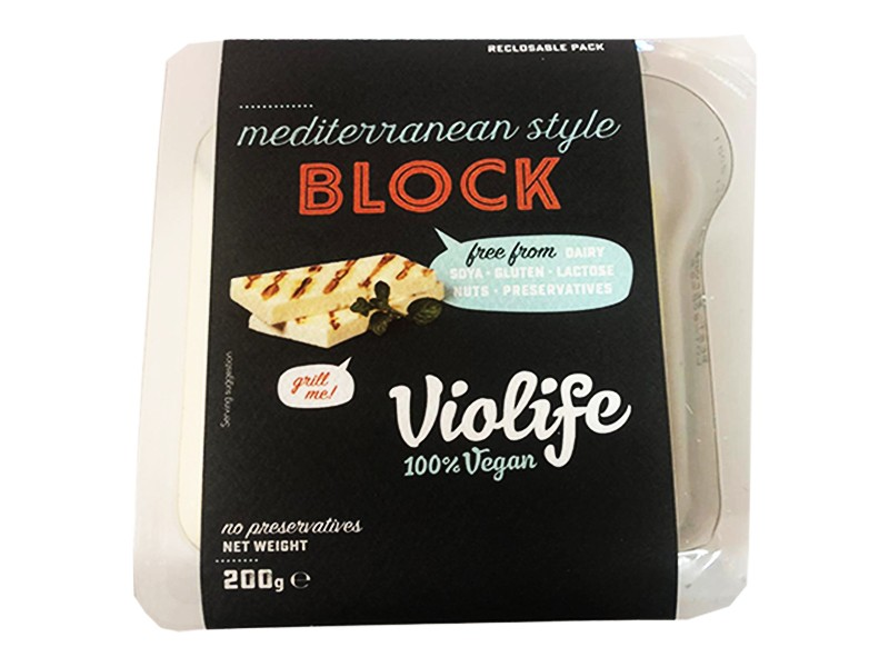 Violife Mediterranean Cheese Alternative Style Block x2 200g